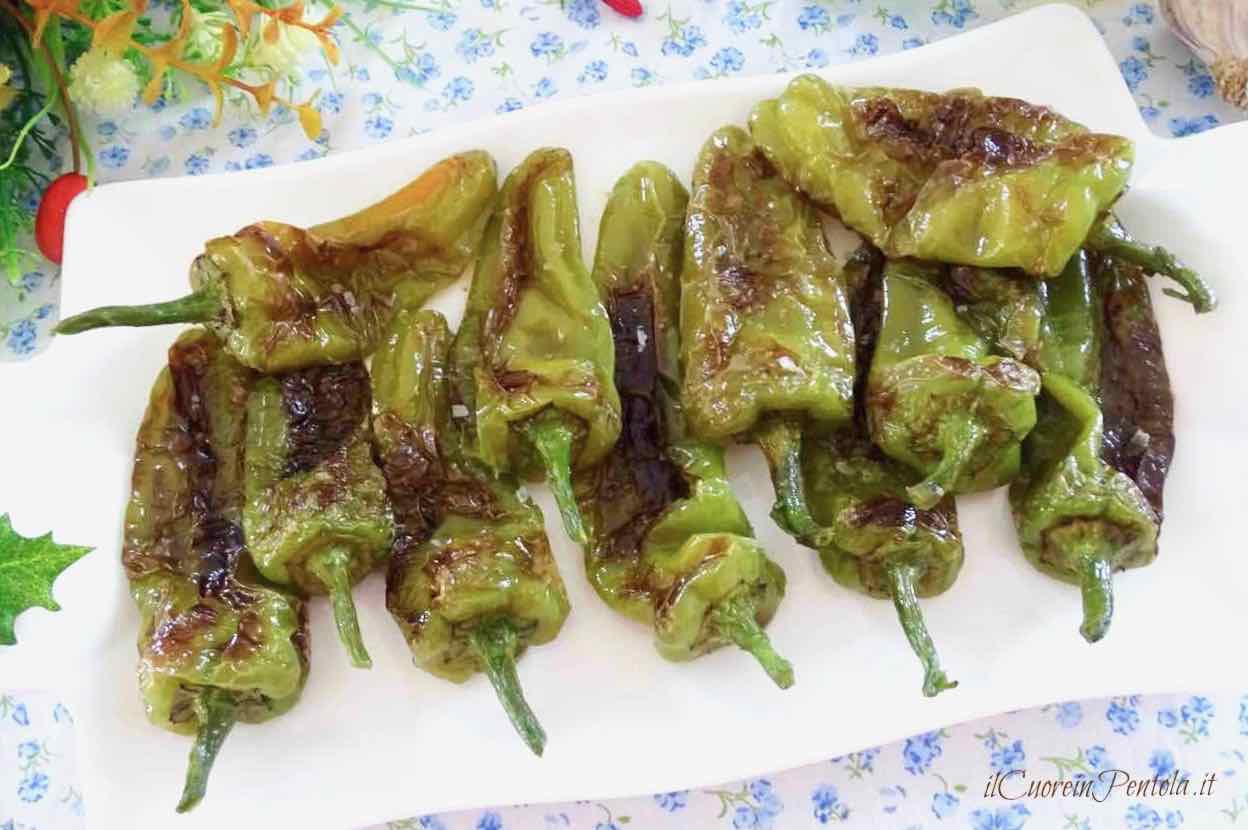 friggitelli fritti in padella