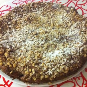 torta ricotta cioccolato e nocciole