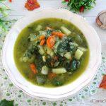 zuppa di patata e bietole