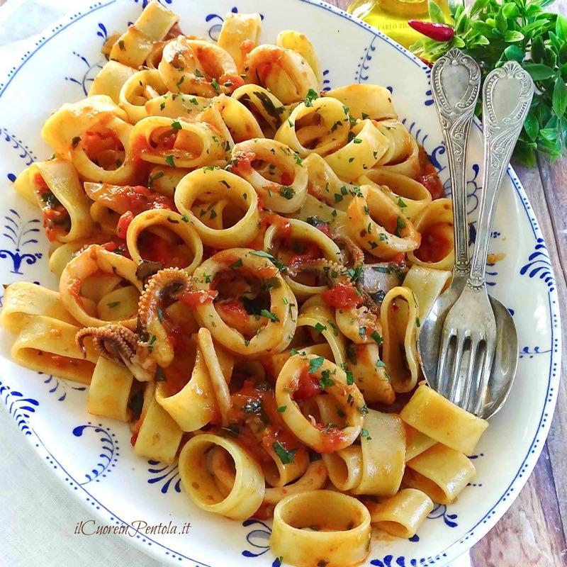 calamarata ricetta