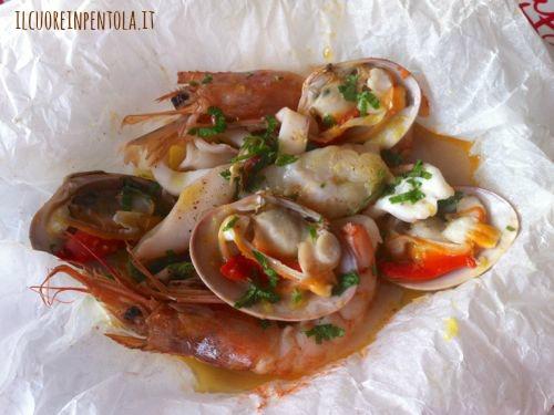 Cartoccio di pesce - Ricette di cucina Il Cuore in Pentola