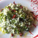 risotto broccoli e gorgonzola