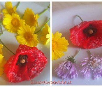 fiori cristallizzati