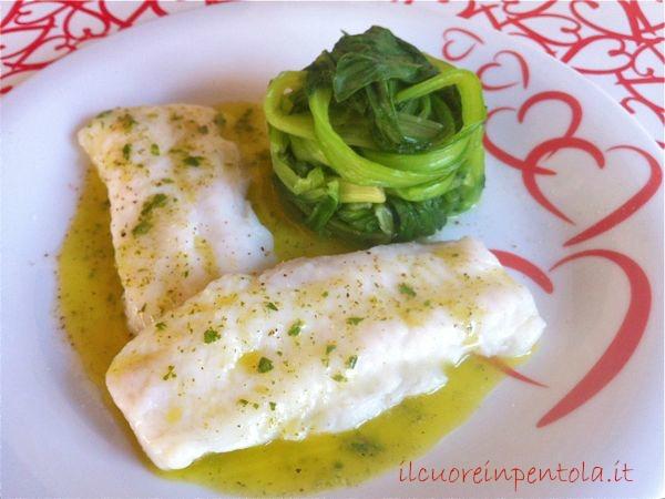 merluzzo al vapore - ricette di cucina il cuore in pentola - Cucinare Filetto Di Merluzzo