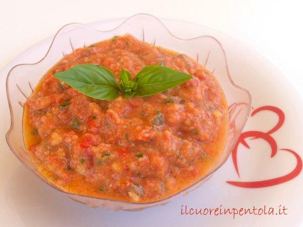 Pesto alla trapanese - Ricette di cucina Il Cuore in Pentola