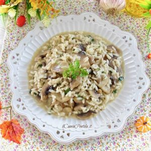 risotto con funghi