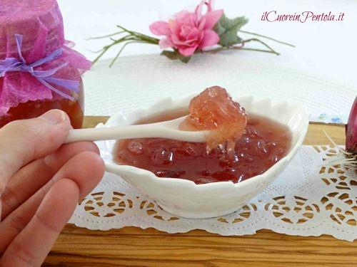 confettura di cipolle rosse ricetta