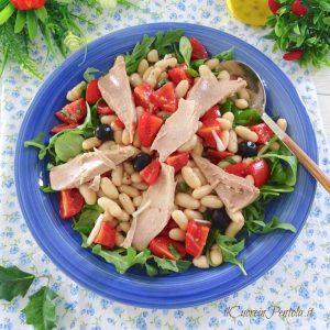 insalata di tonno e fagioli