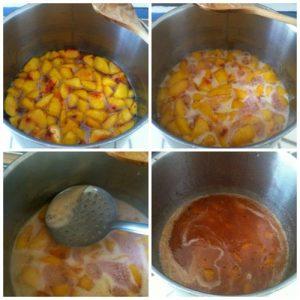 cucinare confettura pesche