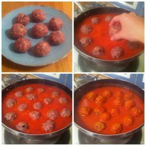 cucinare-polpette-nel-sugo
