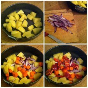preparare-patate-con-cipolle-e-peperoni