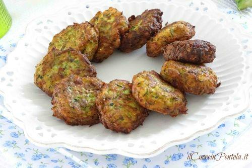 ricetta frittelle di zucchine