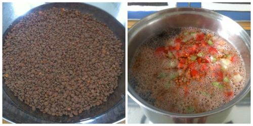 Zuppa di lenticchie e zucca ricette di cucina il cuore in pentola - Cucinare le lenticchie ...