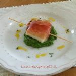 Filetto di baccalà allo speck