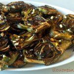Carciofi grigliati marinati