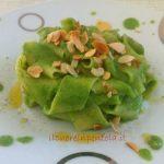 Pappardelle con crema di broccoli