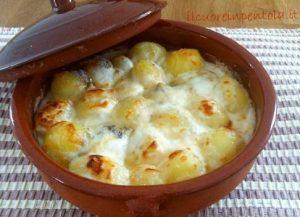 patate novelle gratinate