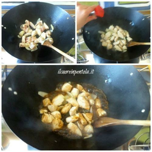 aggiungere salsa di soia
