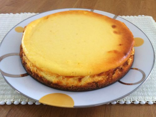 "Ricotta Cheesecake With Caramel Orange Sauce ""cake Is Happiness ..."