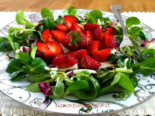 insalata di fragole, soncino e finocchi2