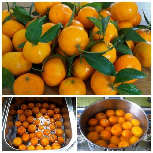 lavare mandarini