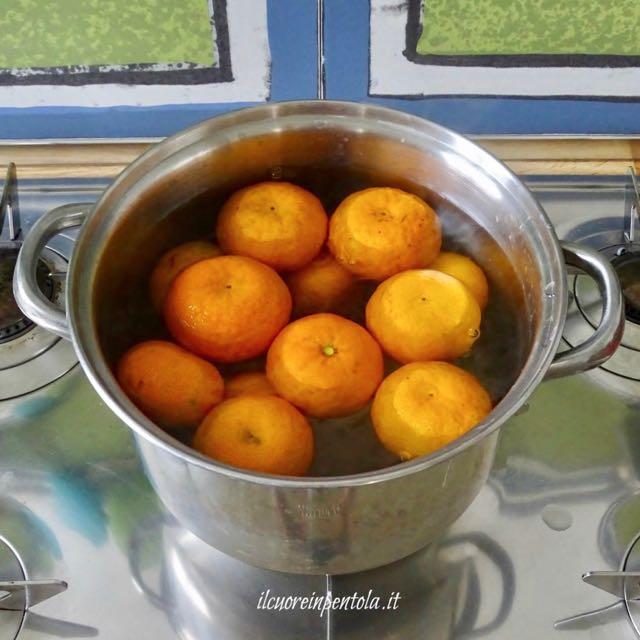 bollire mandarini