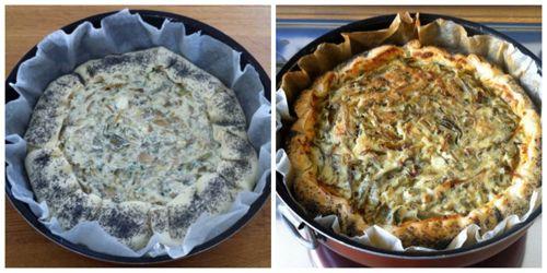 cuocere torta salata in forno