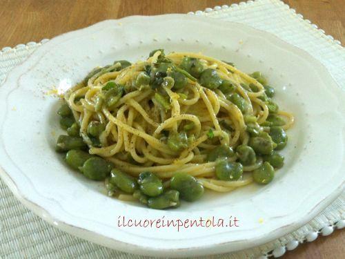 pasta con fave fresche ricetta