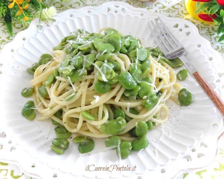 pasta con fave fresche