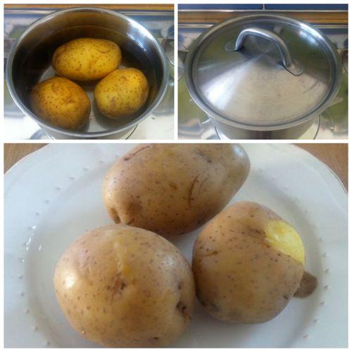 bollire patate per gnocchi