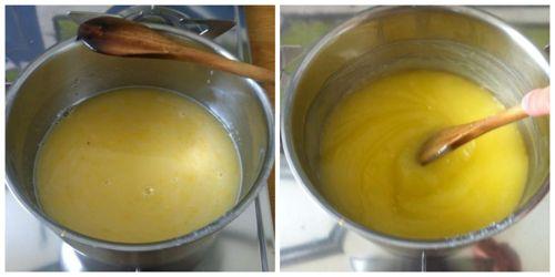 fare addensare crema di limone