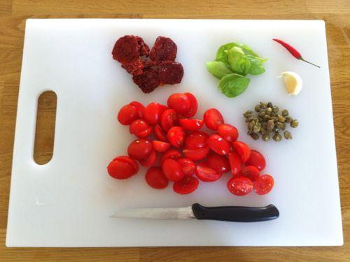 preparare ingredienti