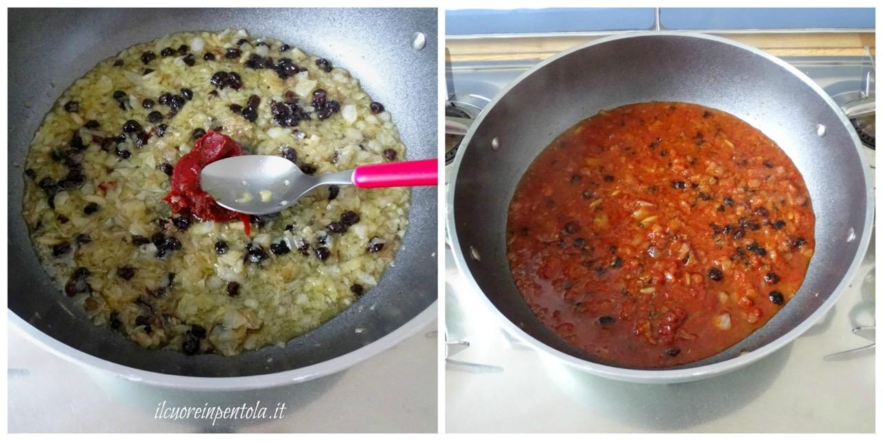 aggiungere concentrato pomodoro