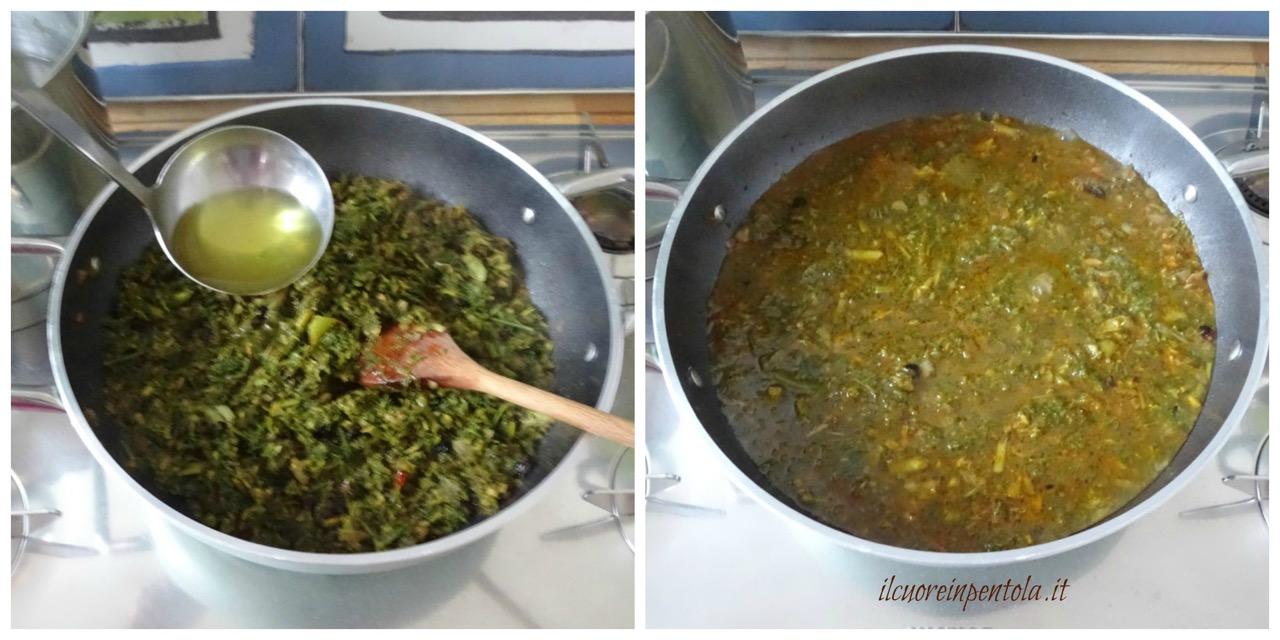 cuocere sugo di finocchietto