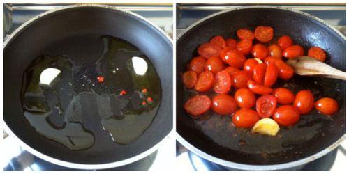saltare pomodorini