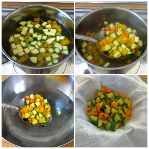 sbollentare verdure