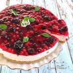 cheesecake yogurt e frutti di bosco