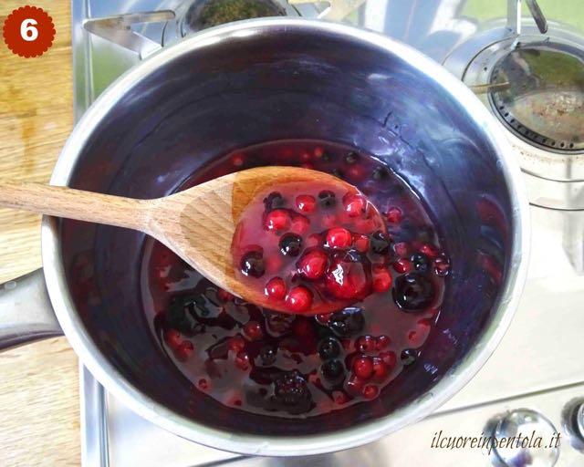 topping ai frutti di bosco