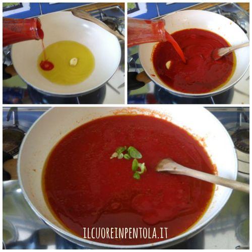 preparare salsa di pomodoro