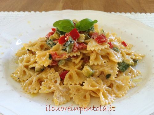 pasta allo yogurt