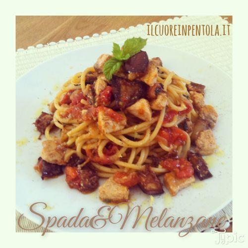 Pasta Pesce Spada E Melanzane Ricette Di Cucina Il Cuore In Pentola