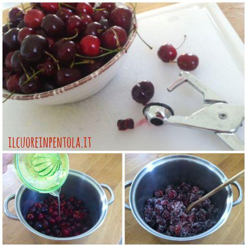 confettura-di-ciliegie-preparazione