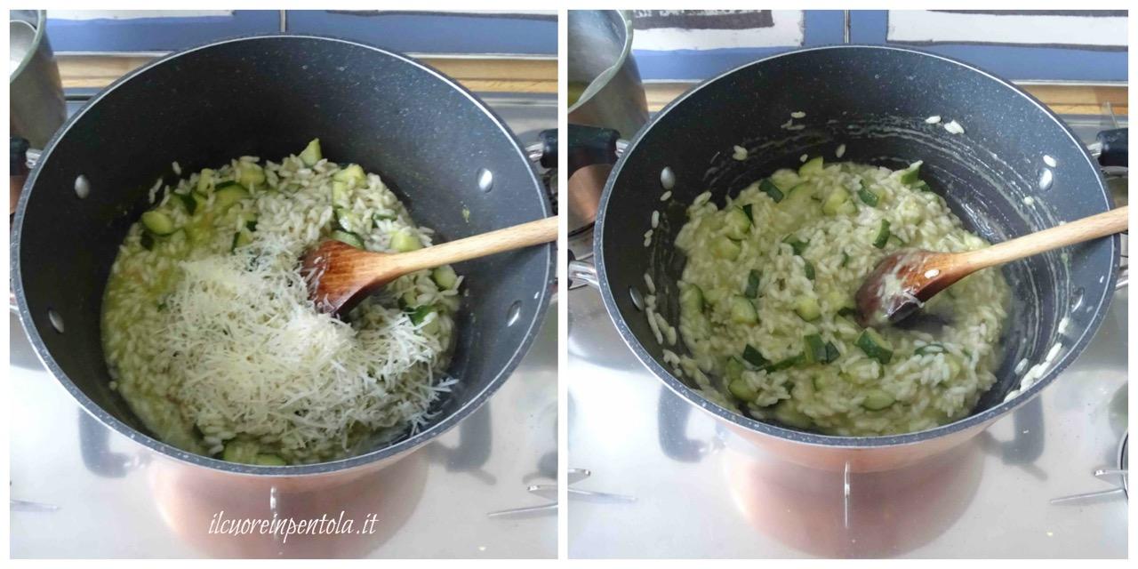 mantecare risotto