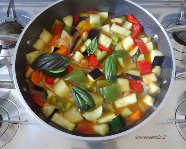 stufare verdure