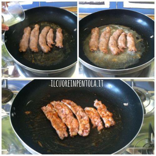 sfumare-salsiccia