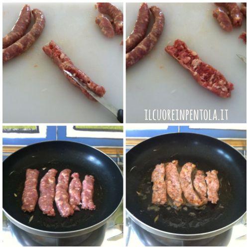 tagliare-e-cucinare-salsiccia