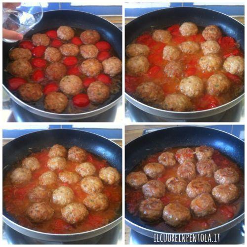 cucinare-polpette-in-umido