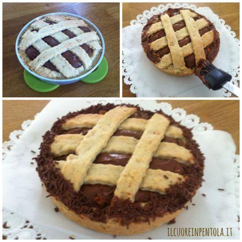 decorare-crostata-nocciole-e-nutella