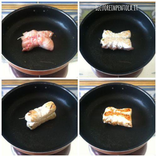 cucinare-fagottini-di-pollo