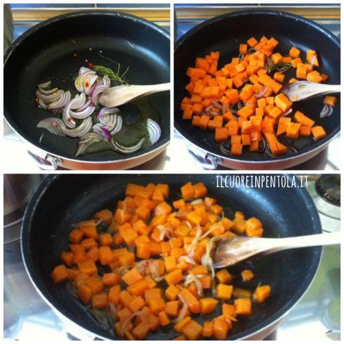 Risotto alla zucca ricette di cucina il cuore in pentola for Cucinare risotto